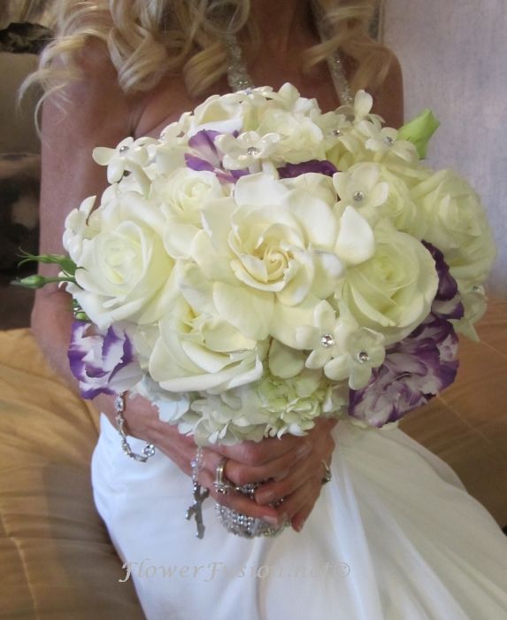 Wedding Cakes Orange County: FlowerFusion