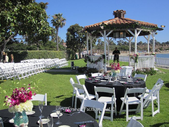 newport dunes wedding newport beach ca flowerfusion