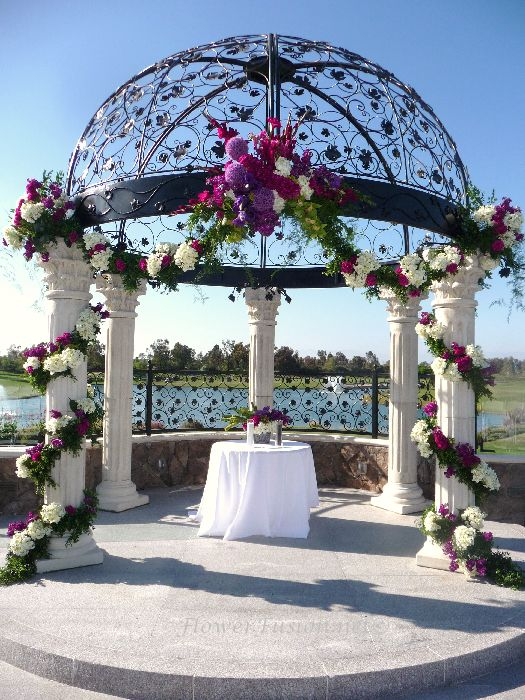 Old Ranch Country Club Wedding Seal Beach Ca Flowerfusion